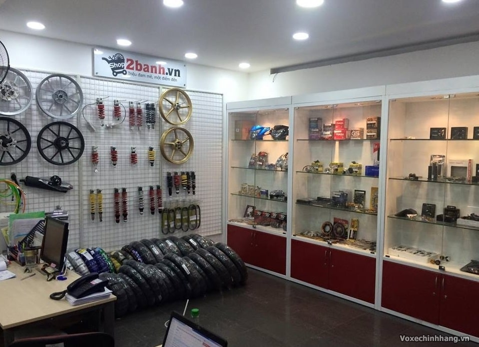 Phan phoi vo xe may Dunlop Michelin chinh hang o TPHCM - 2