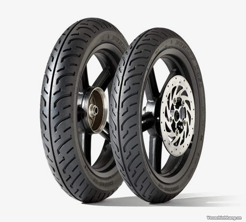 Tại sao vỏ lốp xe máy lại thường là màu đen mà không phải màu nào khác - 1
