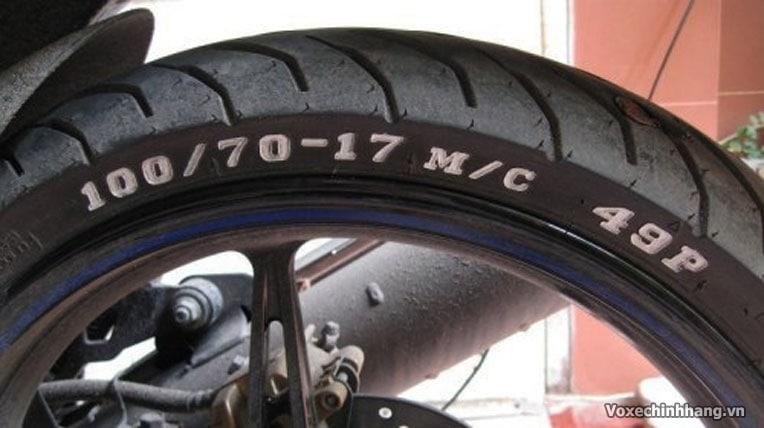 Cách đọc ký hiệu và thông số trên vỏ lốp xe máy - 2