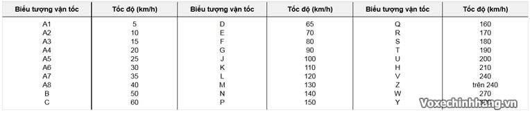 Cách đọc ký hiệu và thông số trên vỏ lốp xe máy - 4