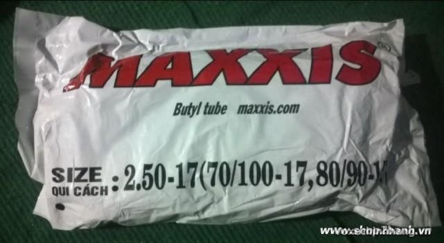 Ruột săm xe máy maxxis 250-17 - 1