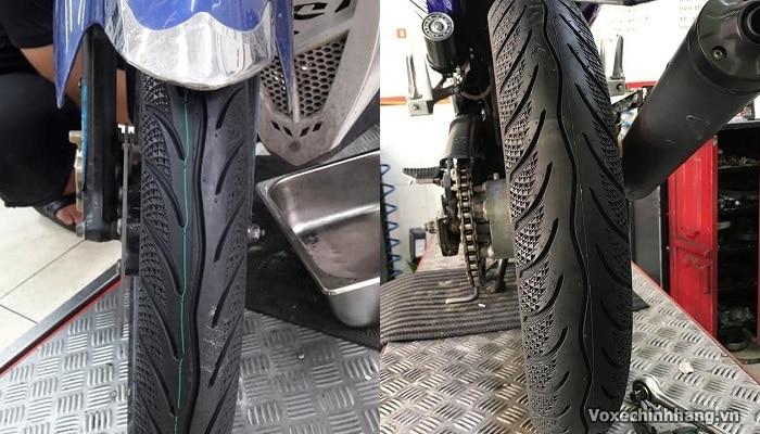 Vỏ xe exciter 135 loại nào tốt giá lốp ex135 bao nhiêu - 7