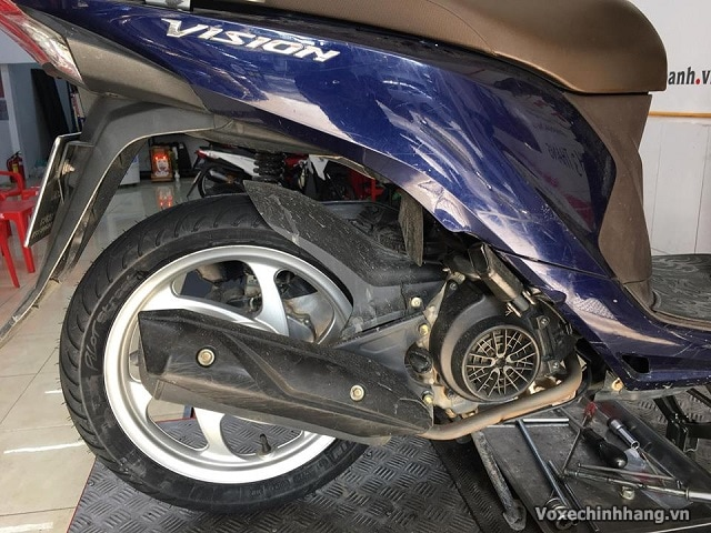 Lốp xe vision là lốp gì có ruột không vỏ xe vision giá bao nhiêu - 3