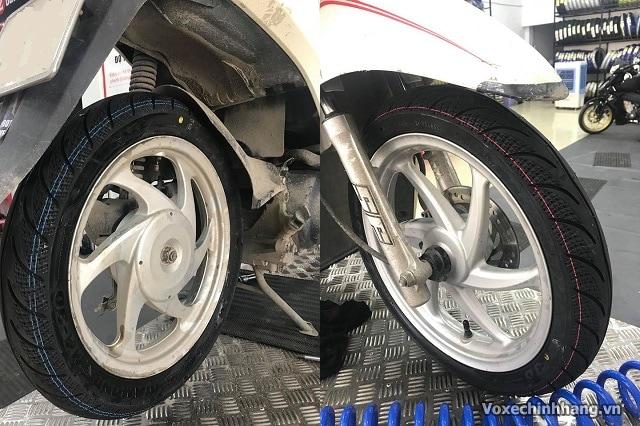 Lốp xe vision là lốp gì có ruột không vỏ xe vision giá bao nhiêu - 8