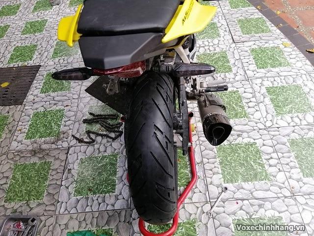 Yamaha r15 lên lốp 160 có được không giá bao nhiêu - 3