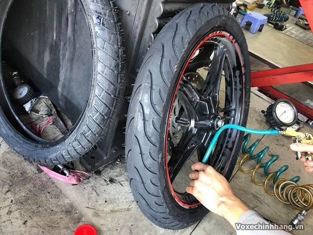 Bảng áp suất lốp xe máy thông dụng hiện nay 2021 tại việt nam - 1