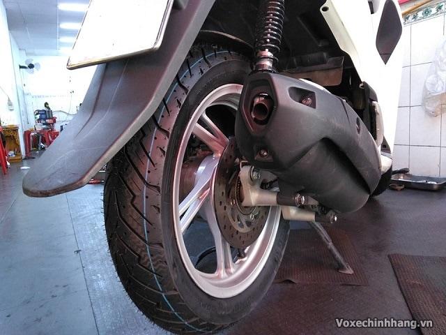 Lựa chọn vỏ xe sh nên dùng lốp michelin hay dunlop cho sh 125 150i - 6
