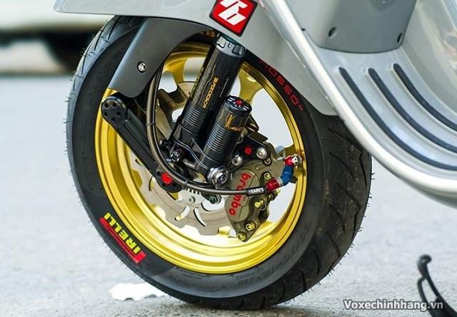 Vỏ xe pirelli 11070-12 diablo rosso scooter - 1