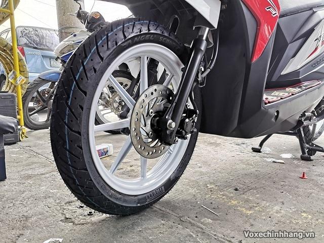 Vỏ xe pirelli 9080-14 angel scooter - 1