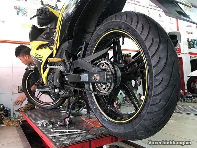 Lựa chọn lốp xe exciter 150 độ lốp michelin 140 hay metzeler - 3