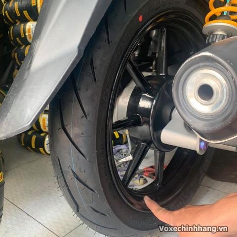 Vỏ xe pirelli 9090-14 diablo rosso scooter - 1