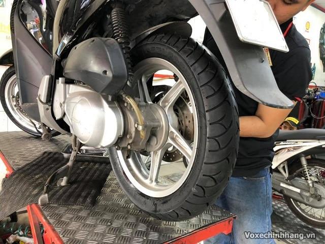 Lựa chọn vỏ xe sh nên dùng lốp michelin hay dunlop cho sh 125 150i - 7