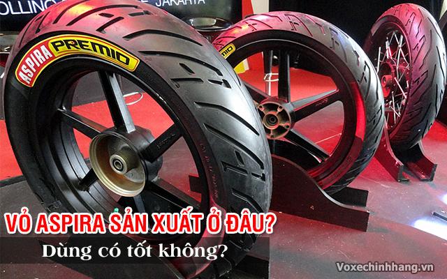 Lốp aspira sản xuất ở đâu vỏ xe aspira có tốt không - 1