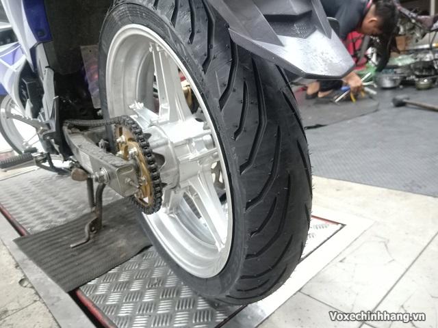 Vỏ xe pirelli 11070-17 angel city - 1