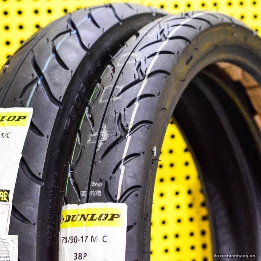 Lốp chống đinh Dunlop 70/90-17 TT902