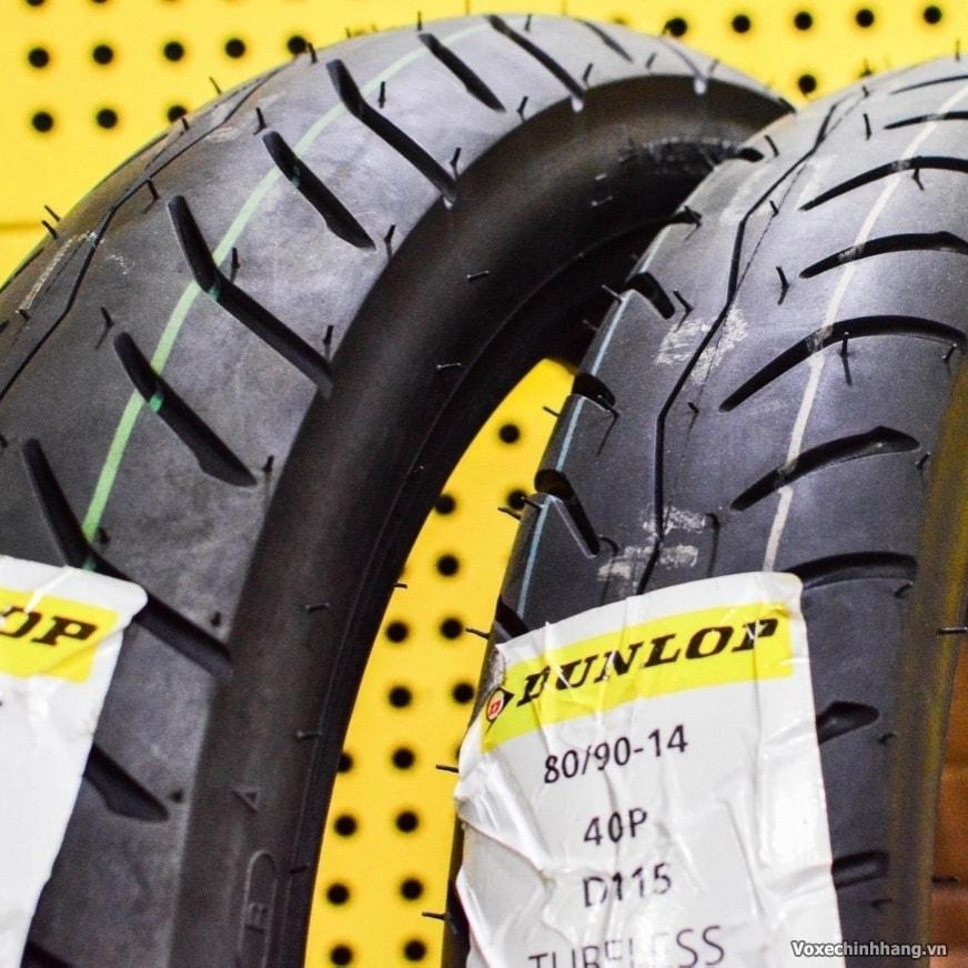 Lốp chống đinh Dunlop 80/90-14 D115