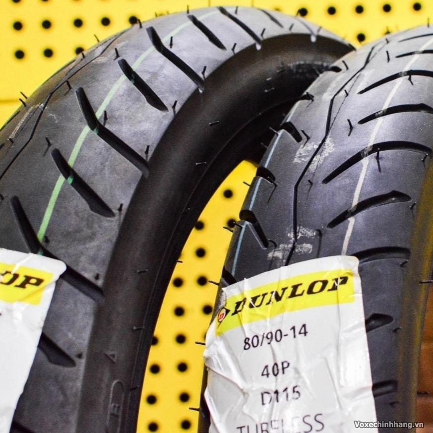 Lốp chống đinh Dunlop 90/90-14 D115