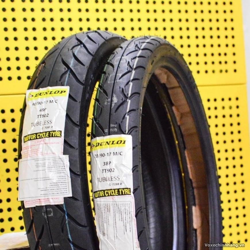 Vỏ xe máy Dunlop 70/90-17 TT902