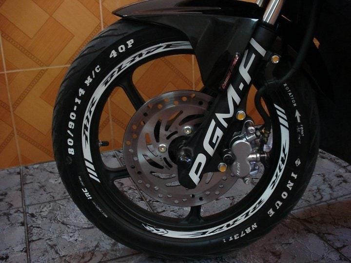 Cách đọc ký hiệu và thông số trên vỏ lốp xe máy