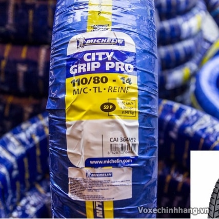 Vỏ xe Michelin City Grip Pro 110/80-14