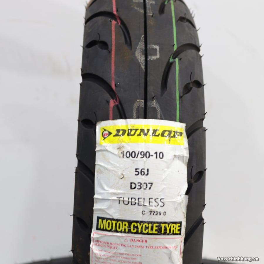 Vỏ xe Dunlop 100/90-10 D307