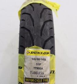 Vỏ xe Dunlop 100/90-14 TT900F