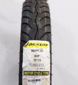 Vỏ xe Dunlop 80/90-14 D115