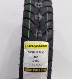 Vỏ xe Dunlop 90/90-14 D115