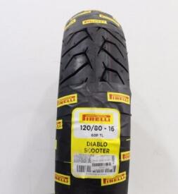 Vỏ xe Pirelli 120/80-16 Diablo Scooter