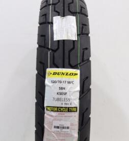 Vỏ xe Dunlop 120/70-17 K505F