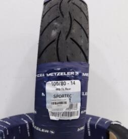 Vỏ xe máy Metzeler 100/80-14