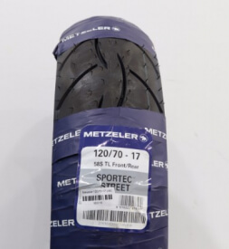 Vỏ xe máy Metzeler 120/70-17