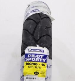 Vỏ xe máy Michelin Pilot Sporty 100/80-16