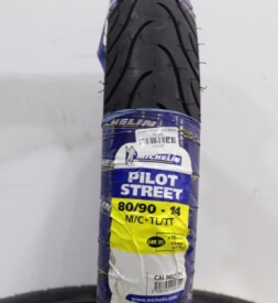 Vỏ xe Michelin Pilot Street 80/90-14