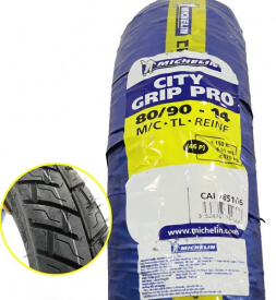 Vỏ xe Michelin City Grip Pro 80/90-14