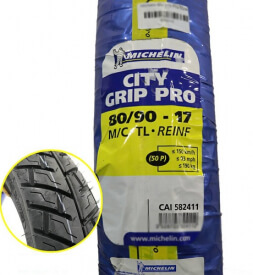 Vỏ xe Michelin City Grip Pro 80/90-17
