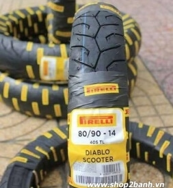 Vỏ xe Pirelli 80/90-14 Diablo Scooter