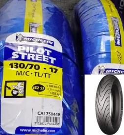 Vỏ xe Michelin Pilot Street 130/70-17