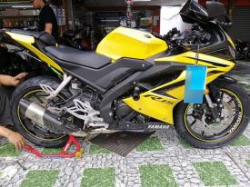 Yamaha R15 lên lốp 160 có được không, giá bao nhiêu?