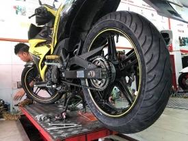 Lốp Michelin 140 cho Exciter 150 giá bao nhiêu tiền?