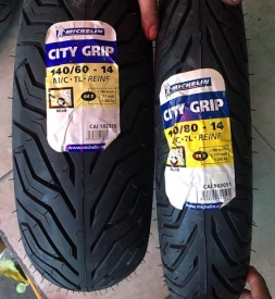 Vỏ xe Michelin City Grip 110/80-14