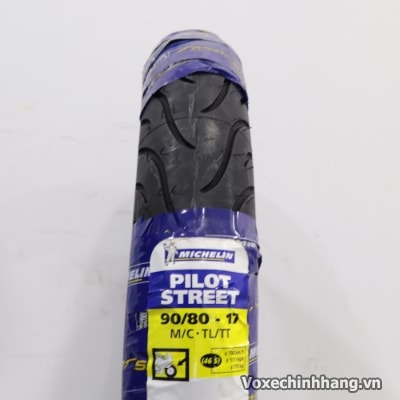 Vỏ xe Michelin Pilot Street 90/80-17