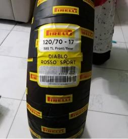 Vỏ xe Pirelli Diablo Rosso Sport 120/70-17