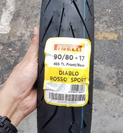 Vỏ xe Pirelli Diablo Rosso Sport 90/80-17