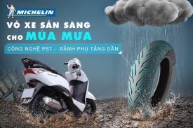 Thay vỏ Michelin cho xe Honda LEAD giá bao nhiêu tiền?