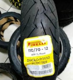 Vỏ xe Pirelli 110/70-12 Diablo Rosso Scooter