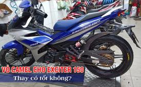 Thay vỏ Camel cho Exciter 150 có tốt không? Giá bao nhiêu?