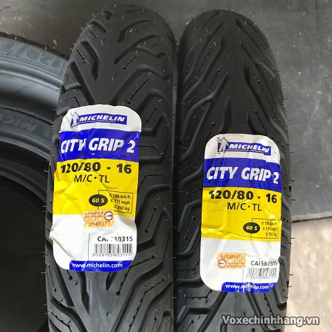 Vỏ xe Michelin City Grip 2 120/80-16