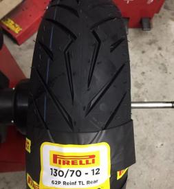 Vỏ xe Pirelli 130/70-12 Diablo Rosso Scooter