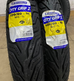Vỏ xe Michelin City Grip 2 100/80-16